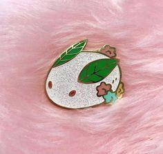 Yuki Usagi Pin / Japanese Snow Rabbit Enamel Pin by NorthernSpells on Etsy