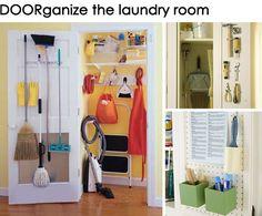 Get DOORganized! (15 ways to organize the back of a door)