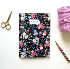 Midnight Rose Garden Notebook by Helen Magee Hairy Fruit Art A5 Notebook, Lined Page, Fruit Art, Notebooks, Card Stock, Stationery, Notes, Band, Floral