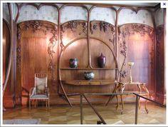 The same Art Nouveau room