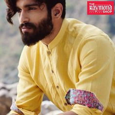 Escape the summer heat with this cool linen shirt ! Shop this look TODAY only at The Raymond Seconds Shop - Paldi :) Summer Heat, Spring Summer, Summer Collection, Menswear, Shirt Dress, Ahmedabad, Shirt Shop, Mens Tops, Shirts