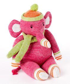 Look at this #zulilyfind! Elroy the Elephant Plush Toy by Monkeez and Friends, $14 !! #zulilyfinds