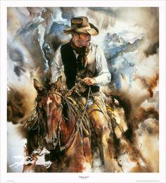 Western Art- Taking Stock by Chris Owen