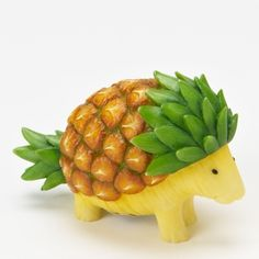 Pineapple porcupine. Could this BE any more cute?