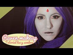 【RAVEN Cosplay makeup tutorial】Luz y sombra (Activa las anotaciones!) - YouTube                                                                                                                                                                                 Mais