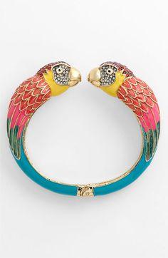 parrots clamper bracelet