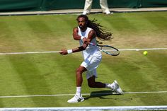 Dustin Brown during his Third round match. Eddie Keogh/AELTC Wimbledon 2015
