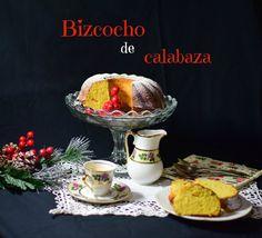 Nos asegura la autora del blog COCINANDO EN MIS LARES que este bizcocho sale muy muy esponjoso y buenísimo. ¡Habrá que comprobarlo!