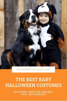 55 of the best ideas for funny baby Halloween costumes! Whether it's your baby's first Halloween or you're dressing a whole family, click through for DIY costumes for boys, girls, infants, siblings, or for a mom and newborn. #BabyHalloween #babycostumes #FamilyHalloween #newmom Funny Baby Halloween Costumes, Diy Costumes For Boys, Baby First Halloween, Unique Costumes, Boy Costumes, Creative Halloween Costumes, Pregnancy Costumes, Funny Babies, Infants