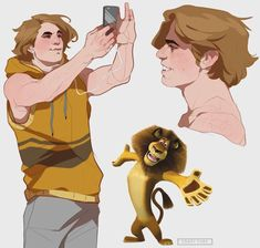 Pixar Drawing DreamWorks Characters Humanized by Tamara Petrosyan aka CrazyTom Cartoon Cartoon, Cartoon Kunst, Cartoon Drawings, Animal Drawings, Cool Drawings, Disney Kunst, Disney Art, Cartoon Characters As Humans, Disney Characters