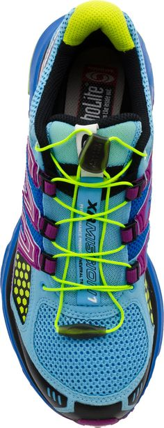 Salomon trail running shoe