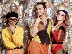 Deee-Lite, 1990 (ph: Lynn Goldsmith)
