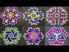 Beautiful Rangoli Designs with Colours Rangoli Designs Simple Diwali, Rangoli Designs Flower, Rangoli Border Designs, Rangoli Ideas, Rangoli Designs With Dots, Rangoli With Dots, Beautiful Rangoli Designs, Mehndi Designs, Flower Designs