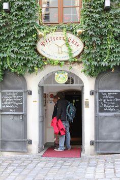Pfiftermühle restaurant in Munich