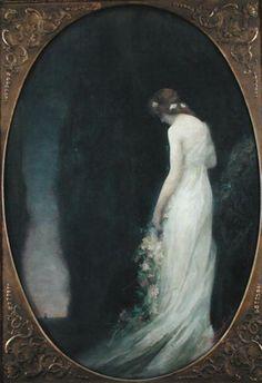 Gabriel-Joseph-Marie-Augustin Ferrier, Evening (1911)♥