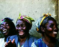 'Hlega Bafasi' which is Zulu for The laughing women.