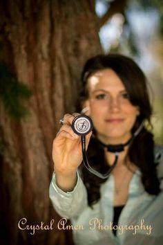 Picture idea for graduating nursing school.