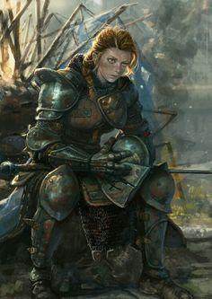 Eva dopo una battaglia