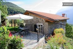 Terrace and garden outside only for the Old Mill guests -  Il Vecchio Mulino a Nesso · Via Nosee, Nesso, Lombardia 22020, Itália