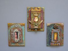 Laurie Mika-3-D Artist Trading Cards