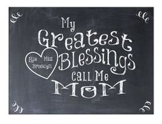 Mom's Blessings PDF gift for mom mother's day idea