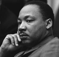 Dr Martin Luther King was a mighty moral thinker and a brilliant strategist for effecting change.