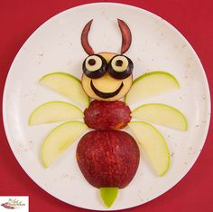 Fun food art ideas for kids healthy kids, healthy snacks, healthy Healthy Kids, Healthy Snacks, Healthy Recipes, Eating Healthy, Easy Recipes, Cute Food, Good Food, Food Art For Kids, Snacks Für Party