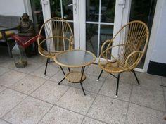 Rotan stoel/tafel Prijs: Gratis