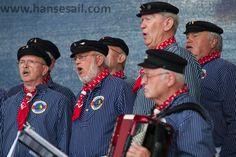 Shanty choir at Hanse Sail Rostock