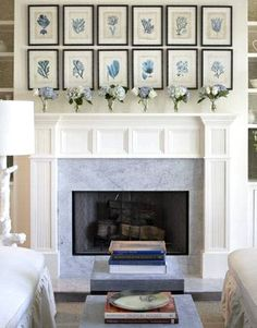 21 Coastal Gallery Walls  -Inspiration and Ideas to Create a Compelling Display - Artwork inspiration