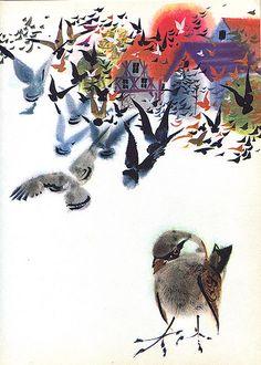 Mirko Hanak - Animal Folk Tales - Sparrow