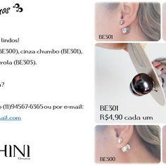 Confira nossos brincos pequenos. Peça nosso catálogo por whatsapp 11 945676365 ou por e-mail benchiniornatos@gmail.com