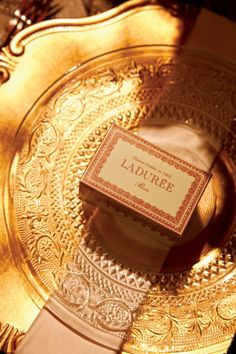 A box of Laduree macaroons that would be a dream