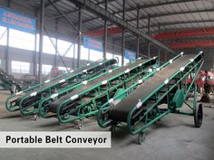 maintenance of portable belt conveyor in winter