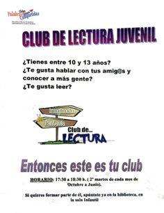 Club de Lectura Juvenil Biblioteca Pública de Palencia