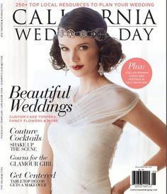 #amberevents in California Wedding Day magazine #eventplanner #wedding #photos #press