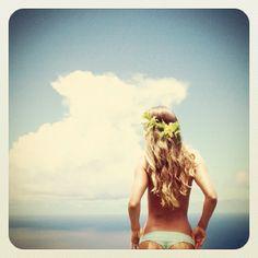 Beach. #BlondeHair #BeachWaves #SunnyBeach