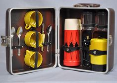 Vintage EMPIRE Coffee Maker Camping Camper Set For RV or Airstream Vintage Thermos Electric Coffee Pot. $54.99, via Etsy.
