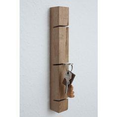 JL-Holz Schlüsselbrett (Eiche vollmassiv)                                                                                                                                                                                 Mehr