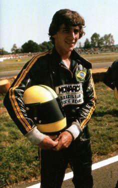 Ayrton Senna in 1978