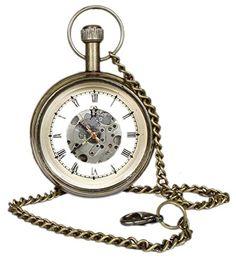 Roman Brass Metal Mechanical Pocket Watch Open Face Design for Men Women Vintage - 1.8 Inch RoyaltyLane http://www.amazon.com/dp/B01C6XPBMK/ref=cm_sw_r_pi_dp_lAN3wb0EQ1GT9