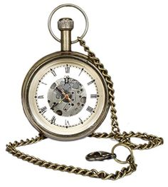 Roman Brass Metal Mechanical Pocket Watch Open Face Design for Men Women Vintage - 4.6 CM RoyaltyLane http://www.amazon.co.uk/dp/B01C6XPBMK/ref=cm_sw_r_pi_dp_7cO3wb0Z1PXGJ