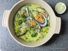 Whole 30: Mussels and Coconut Broth