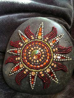 Image result for mosaic rocks
