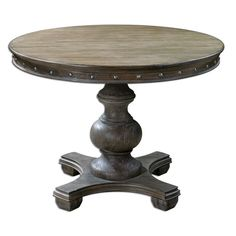 Uttermost 24390 Sylvana Wood Round Table