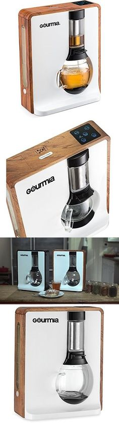 Gourmia GTC8000 Electric Square Tea Maker Loose Leaf Tea Infuser Brewer With i
