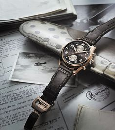 IWC Pilot's Chronograph Watch Antoine de Saint Exupery Edition @IWC Schaffhausen Watches #luxury #watch