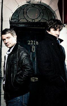 "Love how BBC's ""Sherlock"" merges dark Victorian style with modern fashion."