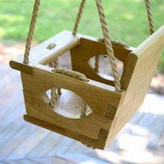 Babyschaukel wunderbare Vorschläge für Innen und Außen !