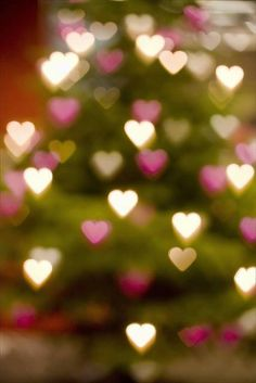 ♥ Sparkling hearts - Happy Valentines Day, Love, Hearts, Happiness, February, Valentine, Be Mine, Always and Forever!